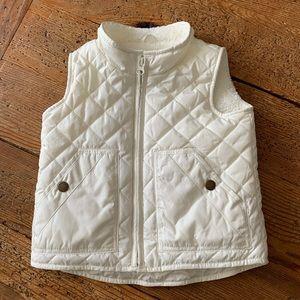 NWOT Gap Sherpa-Lined Vest